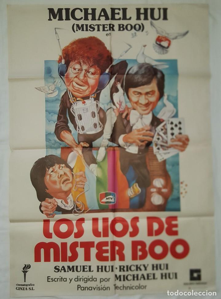PÓSTER ORIGINAL LOS LÍOS DE MÍSTER BOO.MICHAEL HUI (Cine - Posters y Carteles - Comedia)