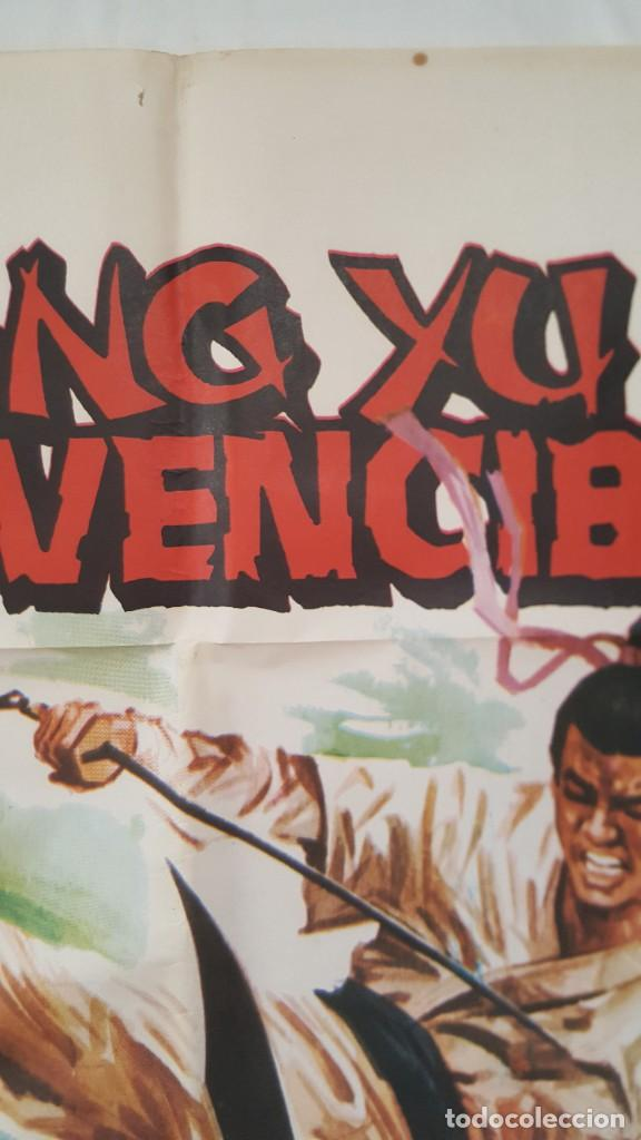 Cine: PÓSTER ORIGINAL WANG YU EL INVENCIBLE - Foto 2 - 207867595