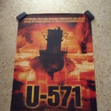 Cine: CARTEL PELÍCULA U-571. MEDIDAS 70X100. Lote 207892312