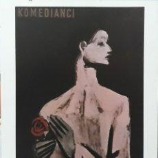 Cine: LAMINA CARTEL DE CINE KOMEDIANCI MARCELO CARNE 1944. Lote 207923152