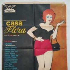 Cine: PÓSTER ORIGINAL CASA FLORA 1973 LOLA FLORES. Lote 207974671