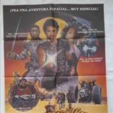 Cine: PÓSTER ORIGINAL GUERREROS DEL ESPACIO 1984. Lote 208040020