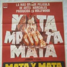 Cine: PÓSTER ORIGINAL MATA Y MATA OTRA VEZ (1982). Lote 208040333