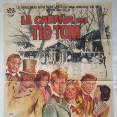 Cine: PÓSTER ORIGINAL LA CABAÑA DEL TIO TOM (1965). Lote 208040703