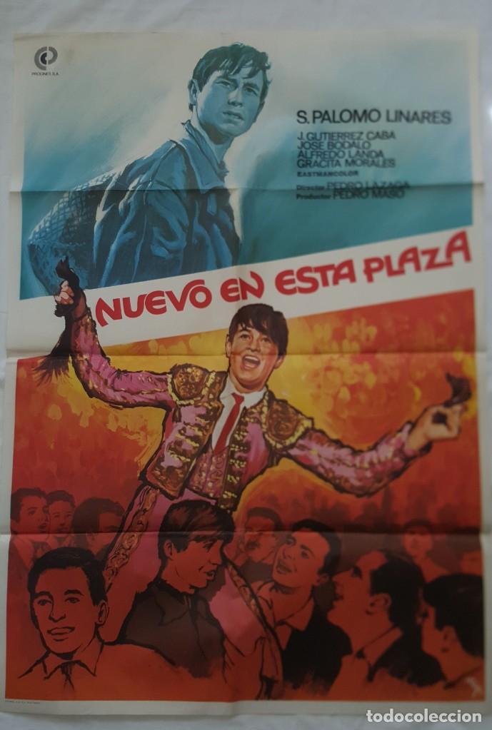 PÓSTER ORIGINAL NUEVA EN ESTA PLAZA 1979 (Cine - Posters y Carteles - Clasico Español)