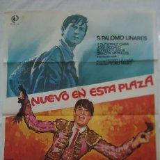 Cine: PÓSTER ORIGINAL NUEVA EN ESTA PLAZA 1979. Lote 208073522