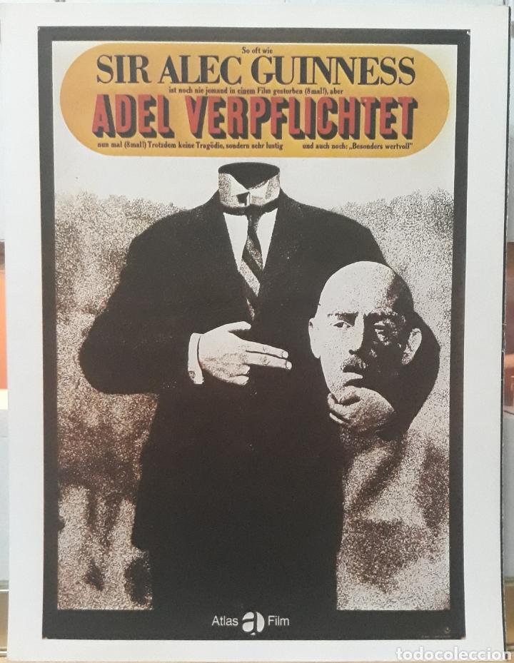 LAMINA CARTEL DE CINE OCHO SENTENCIAS DE MUERTE ROBERT HAMER 1949 (Cine - Posters y Carteles - Suspense)