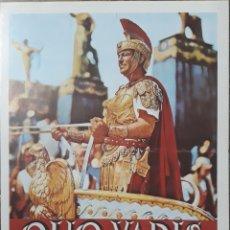 Cine: LAMINA CARTEL DE CINE QUO VADIS MARVYN LE ROY 1951. Lote 208117626