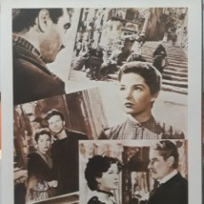 Cine: LAMINA CARTEL DE CINE PROCESO A LA CIUDAD LUIGI ZAMPA 1952. Lote 208118073