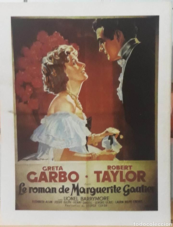 LAMINA CARTEL DE CINE MARGARITA GRETA GARBO CUKOR 1936 (Cine- Posters y Carteles - Drama)