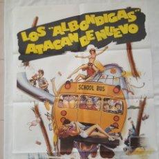 Cine: PÓSTER ORIGINAL LOS ALBÓNDIGAS ATACAN DE NUEVO. Lote 208142802