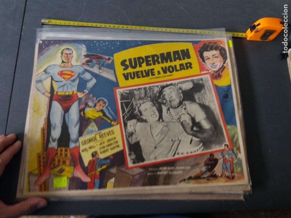 SUPERMAN VUELVE A VOLAR,LOBBY (Cine - Posters y Carteles - Ciencia Ficción)