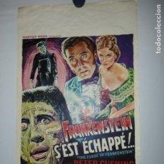 Cinema: FRANKENSTEIN SEST ÉCHAPPÉ - 55 X 36. Lote 208214800