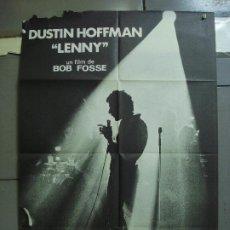 Cine: CDO 3094 LENNY BRUCE DUSTIN HOFFMAN BOB FOSSE POSTER ORIGINAL 70X100 ESTRENO. Lote 208272702