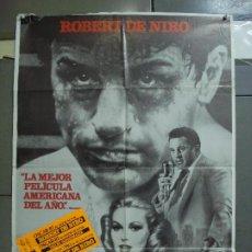 Cine: CDO 3116 TORO SALVAJE ROBERT DE NIRO MARTIN SCORSESE BOXEO POSTER ORIGINAL ESTRENO 70X100. Lote 208289651