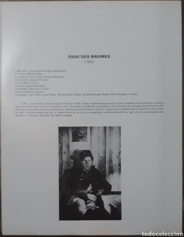 Cine: Lamina cartel de cine quai des brumes Marcel Carné 1938 - Foto 2 - 208290248