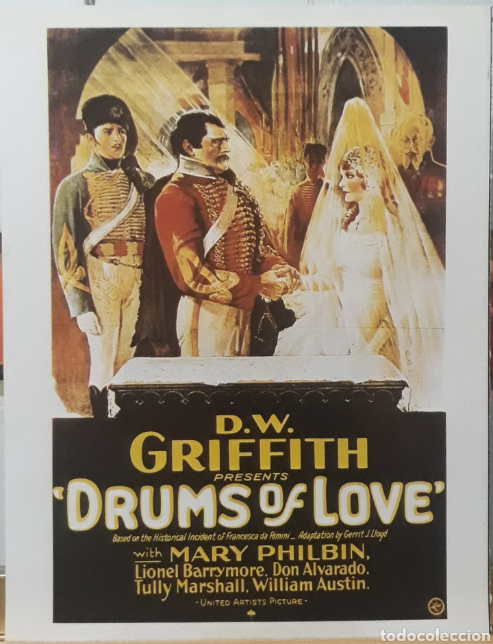 LAMINA CARTEL DE CINE LA MAYOR VICTORIA DAVID WARK GRIFFITH 1928 (Cine- Posters y Carteles - Drama)