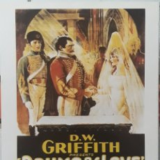 Cine: LAMINA CARTEL DE CINE LA MAYOR VICTORIA DAVID WARK GRIFFITH 1928. Lote 208328875
