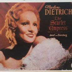 Cine: LÁMINA CARTEL DE CINE CAPRICHO IMPERIAL JOSEF VON STERNBERG 1934. Lote 208331607