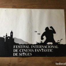 Cine: PÓSTER FESTIVAL SITGES DE CINE FANTASTIC - MUY RARO!. Lote 208336975