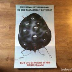 Cine: PÓSTER FESTIVAL DE SITGES DE TERROR 1979 - LABISSE. Lote 208341876