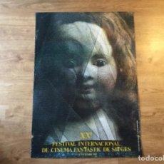 Cine: PÒSTER FESTIVAL DE SITGES DE TERROR 1987. Lote 208347173