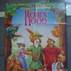 Cine: CDO 3129 ROBIN HOOD WALT DISNEY POSTER ORIGINAL 70X100 ESPAÑOL R-89. Lote 208377086