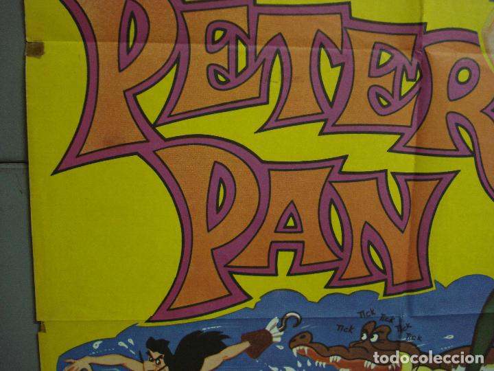 Cine: CDO 3137 PETER PAN WALT DISNEY POSTER ORIGINAL 70X100 ESPAÑOL - Foto 4 - 208384746