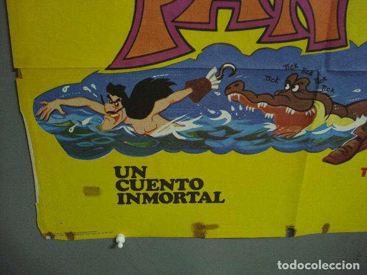 Cine: CDO 3137 PETER PAN WALT DISNEY POSTER ORIGINAL 70X100 ESPAÑOL - Foto 5 - 208384746
