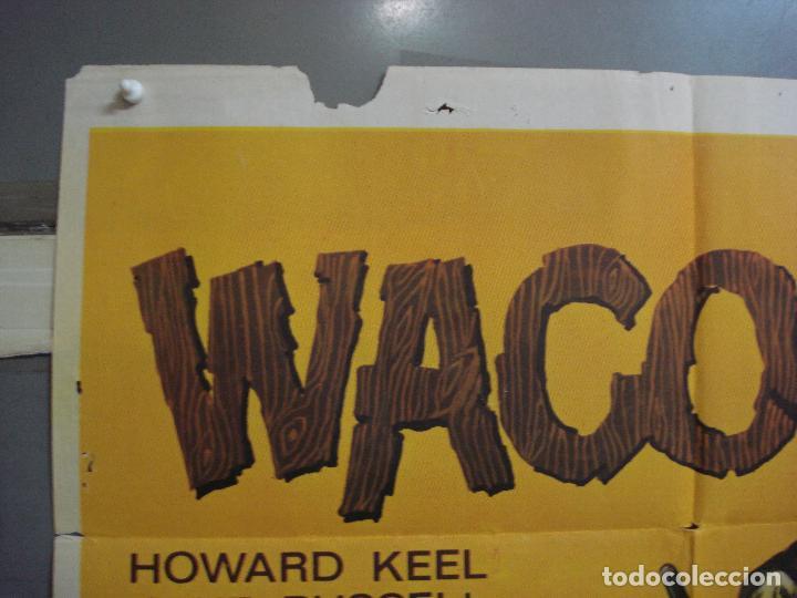 Cine: CDO 3161 WACO HOWARD KEEL JANE RUSSELL LEAF POSTER ORIGINAL ESTRENO 70X100 - Foto 2 - 208391370