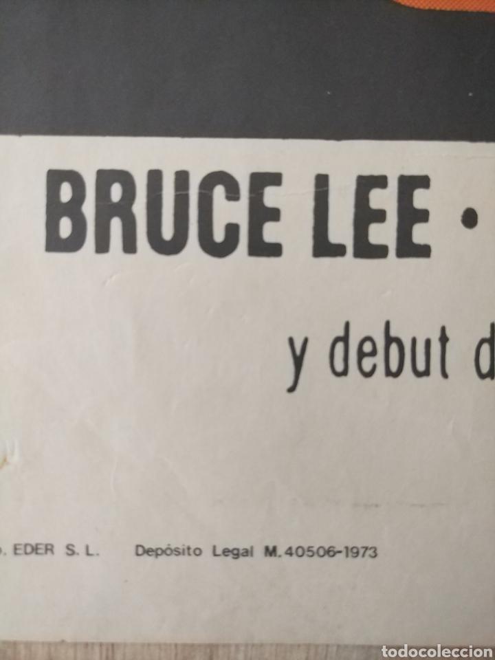 Cine: Cartel Estreno cines en España película OPERACION DRAGON (BRUCE LEE) Año: 1973 - Foto 3 - 208395121