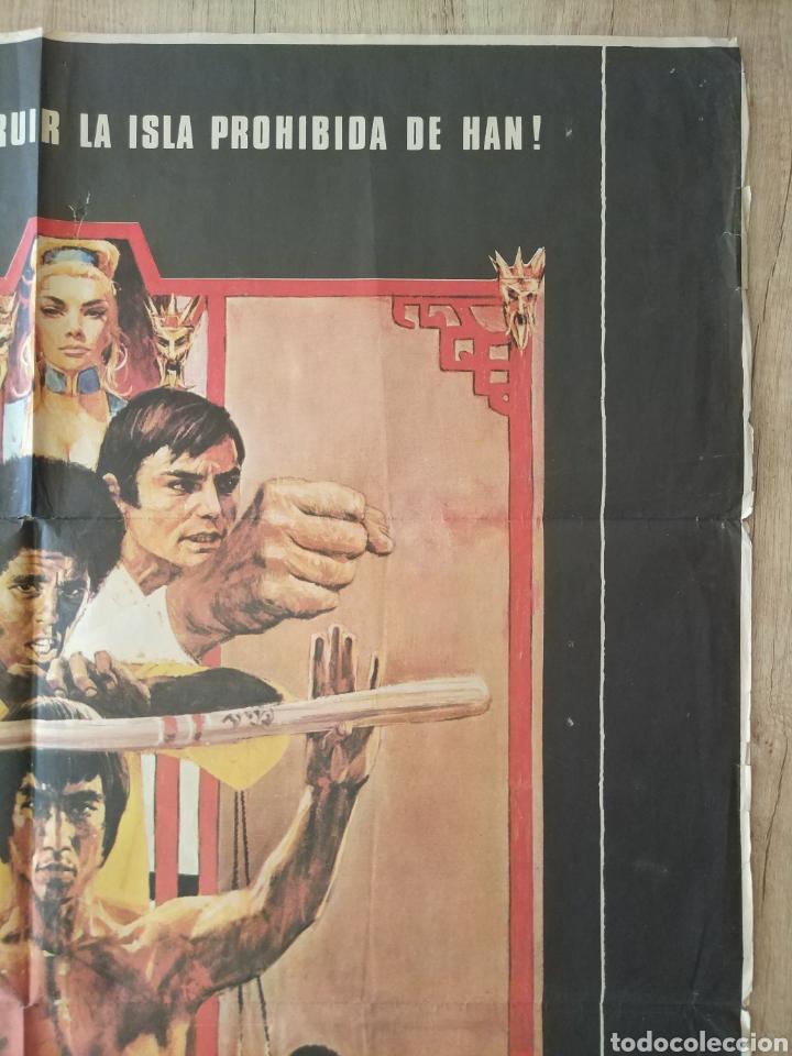 Cine: Cartel Estreno cines en España película OPERACION DRAGON (BRUCE LEE) Año: 1973 - Foto 5 - 208395121