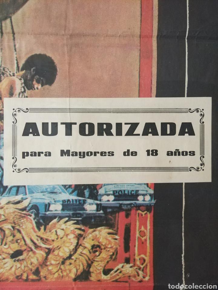 Cine: Cartel Estreno cines en España película OPERACION DRAGON (BRUCE LEE) Año: 1973 - Foto 8 - 208395121