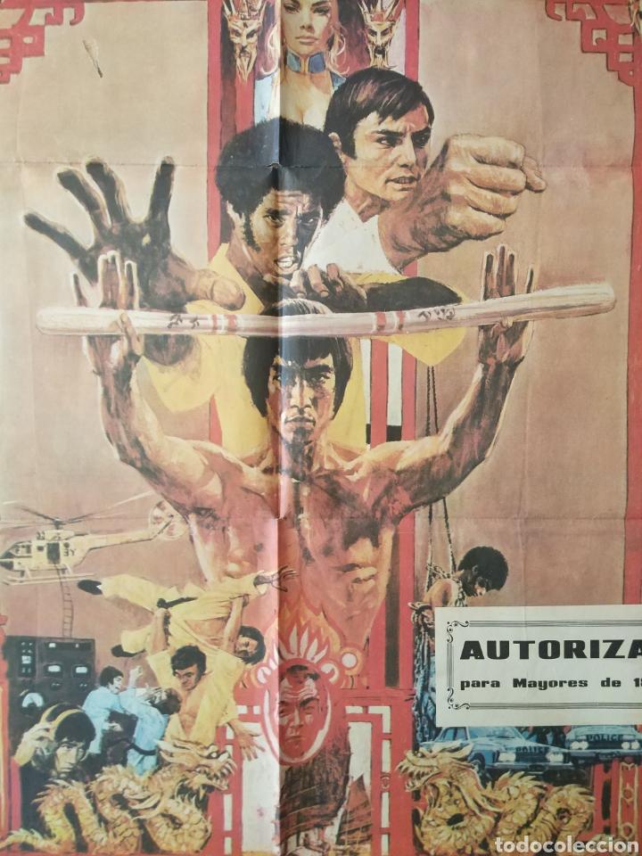 Cine: Cartel Estreno cines en España película OPERACION DRAGON (BRUCE LEE) Año: 1973 - Foto 12 - 208395121