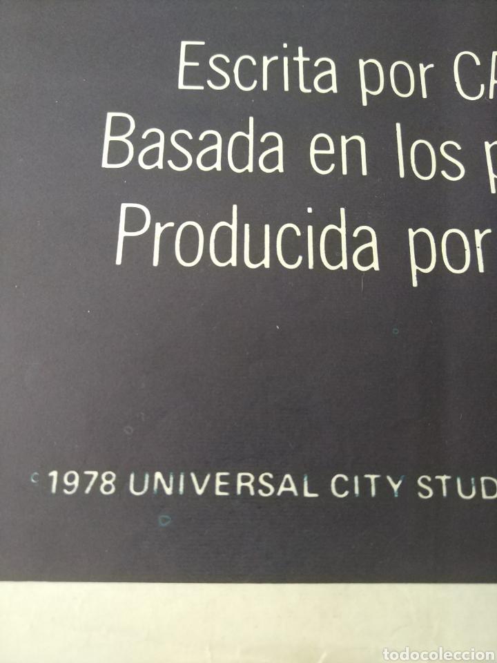 Cine: Cartel Estreno cines en España película TIBURÓN 2 (JAWS). Año 1978 - Foto 3 - 208401946