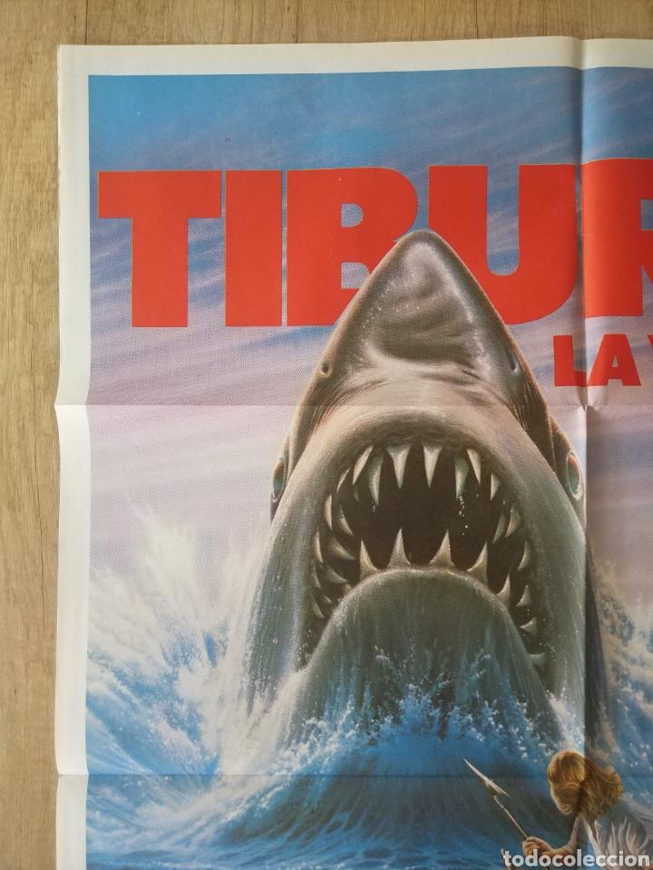 Cine: Cartel Estreno cines en España película TIBURÓN LA VENGANZA (Jaws: The Revenge) Año: 1987 - Foto 3 - 208403963