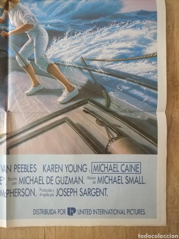 Cine: Cartel Estreno cines en España película TIBURÓN LA VENGANZA (Jaws: The Revenge) Año: 1987 - Foto 6 - 208403963