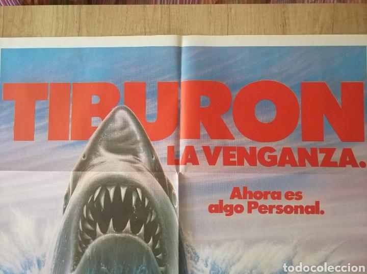 Cine: Cartel Estreno cines en España película TIBURÓN LA VENGANZA (Jaws: The Revenge) Año: 1987 - Foto 7 - 208403963