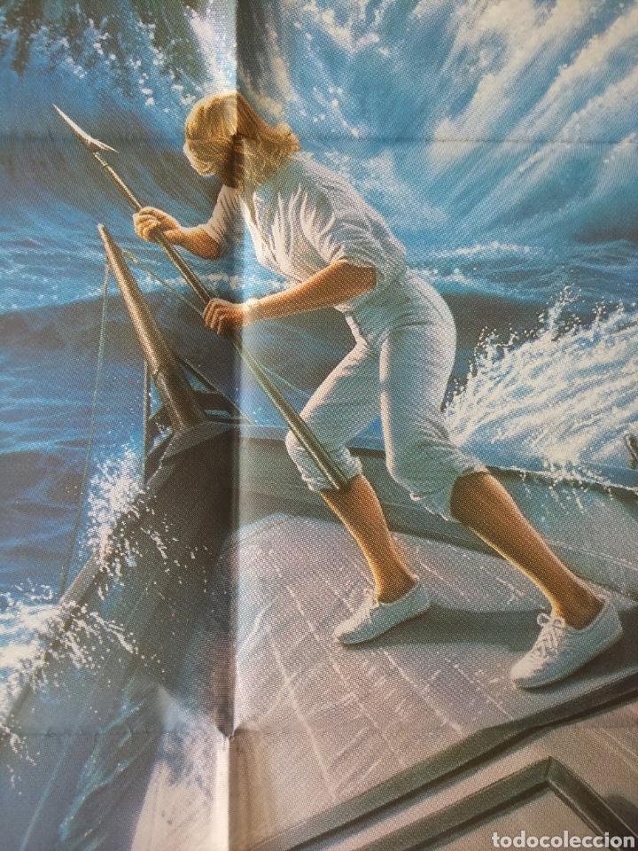 Cine: Cartel Estreno cines en España película TIBURÓN LA VENGANZA (Jaws: The Revenge) Año: 1987 - Foto 8 - 208403963