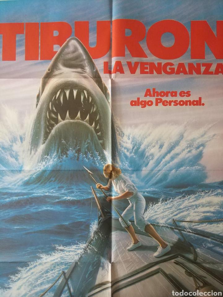 Cine: Cartel Estreno cines en España película TIBURÓN LA VENGANZA (Jaws: The Revenge) Año: 1987 - Foto 9 - 208403963