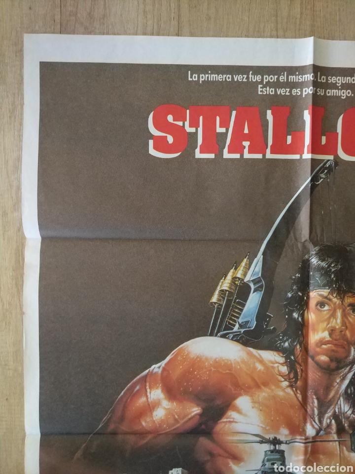 Cine: Cartel Estreno cines en España película RAMBO 3 (Sylvester Stallone) Año: 1988 - Foto 4 - 208405913