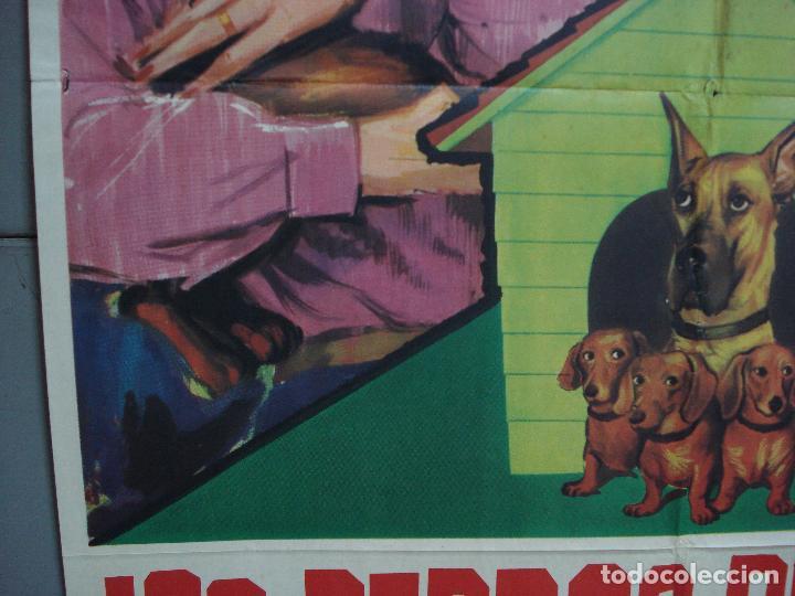 Cine: CDO 3191 LOS PERROS DE MI MUJER WALT DISNEY POSTER ORIGINAL 70X100 ESTRENO - Foto 4 - 208473646