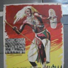 Cine: CDO 3200 TOKENDE GERARD DE BOE DOCUMENTAL AFRICA NEGRA POSTER ORIGINAL 70X100 ESTRENO. Lote 208483058