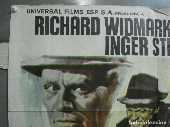 Cine: CDO 3223 BRIGADA HOMICIDA RICHARD WIDMARK HENRY FONDA POSTER ORIGINAL 70X100 ESTRENO - Foto 2 - 208490286