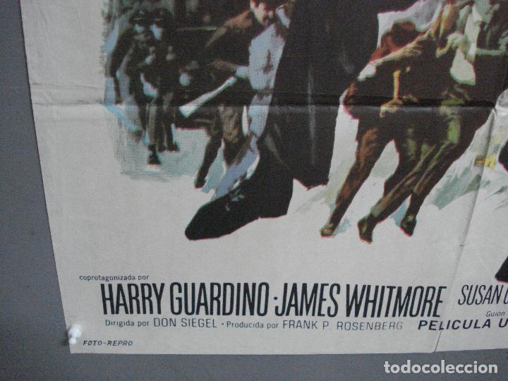 Cine: CDO 3223 BRIGADA HOMICIDA RICHARD WIDMARK HENRY FONDA POSTER ORIGINAL 70X100 ESTRENO - Foto 5 - 208490286