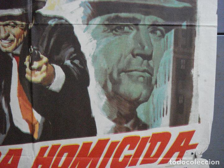 Cine: CDO 3223 BRIGADA HOMICIDA RICHARD WIDMARK HENRY FONDA POSTER ORIGINAL 70X100 ESTRENO - Foto 7 - 208490286