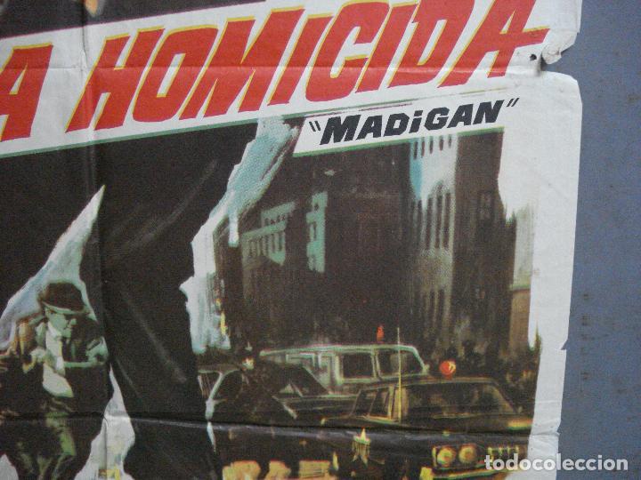 Cine: CDO 3223 BRIGADA HOMICIDA RICHARD WIDMARK HENRY FONDA POSTER ORIGINAL 70X100 ESTRENO - Foto 8 - 208490286