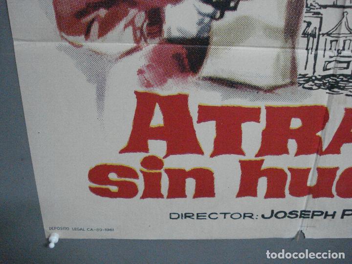 Cine: CDO 3238 ATRACO SIN HUELLAS TONY CURTIS GEORGE NADER JULIE ADAMS JANO POSTER ORIGINAL 70X100 ESTRENO - Foto 5 - 208560978