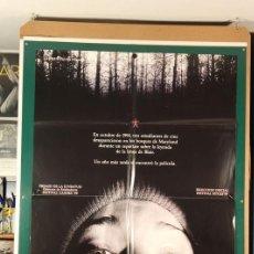 Cinéma: PROYECTO DE LA BRUJA DE BLAIR, EL EDUARDO SÁNCHEZ, DANIEL MYRICK 1999. Lote 208657095