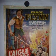 Cinema: L'AIGLE DES MERS (HALCÓN DE LOS MARES) - 1940 - 56 X 36. Lote 208660807